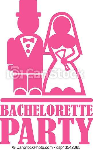 Bachelorette Party Clip Art Vector
