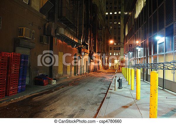 Back Alley - csp4780660