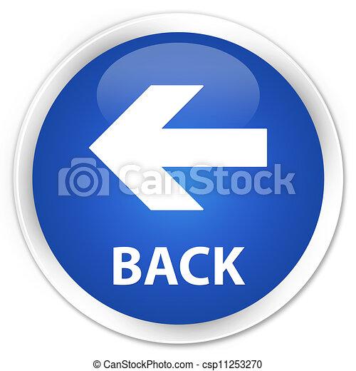 Back blue button - csp11253270