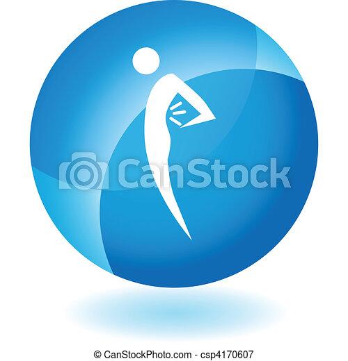 Back Pain Figure - csp4170607