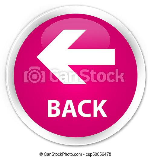 Back premium pink round button - csp50056478