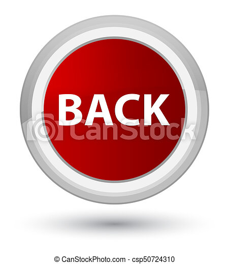 Back prime red round button - csp50724310