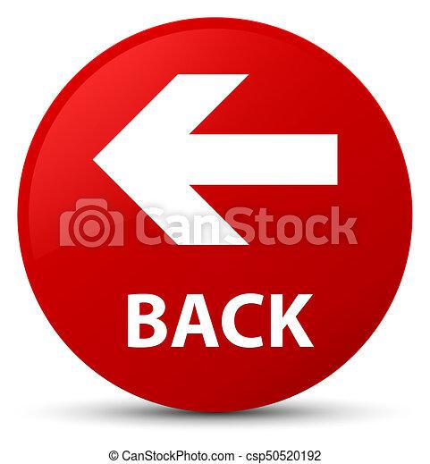 Back red round button - csp50520192