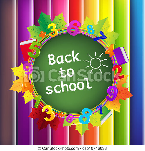 Back To School Background - csp10746033
