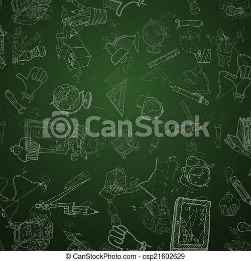 Back To School Background - csp21602629