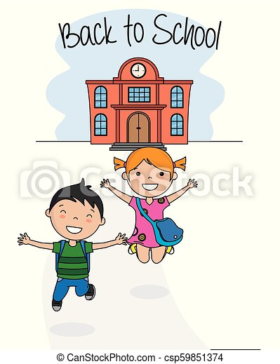Back to school card - csp59851374