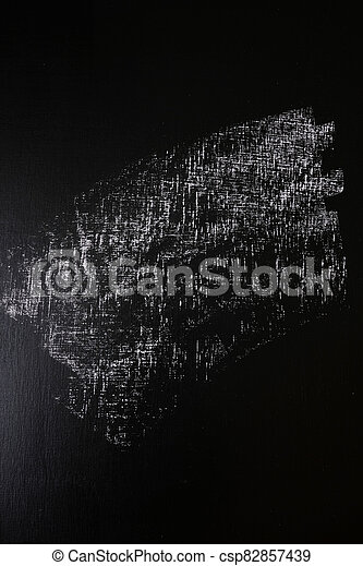 Back to School. Chalk texture square on blackboard - csp82857439