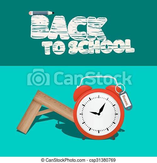 Back to School  - csp31380769