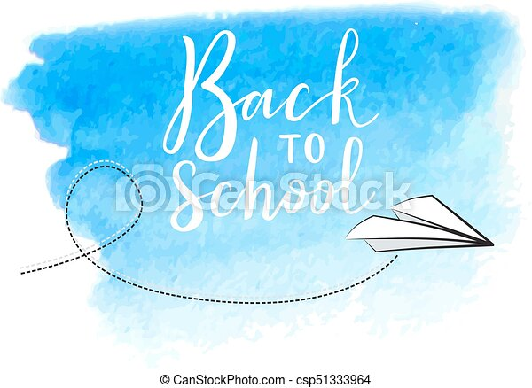 Back to school virtual postcard banner design holiday greeting for back to school virtual postcard banner design holiday greeting for social media post ads poster email card lettering title m4hsunfo