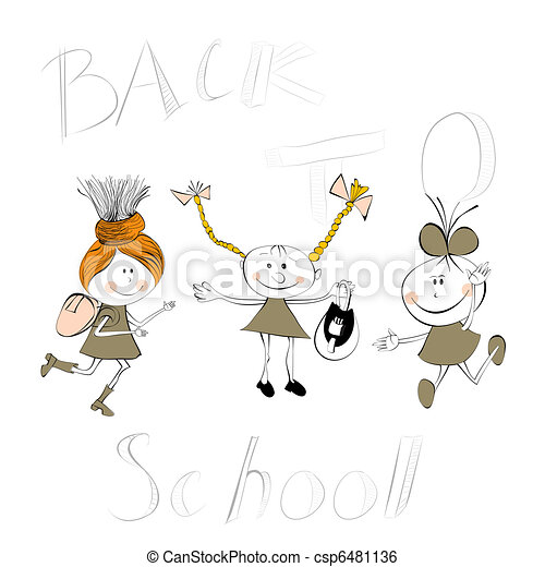 Back to school - csp6481136