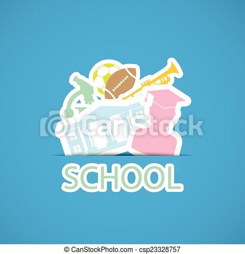 back to school - csp23328757