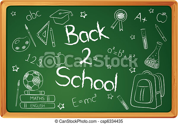 Back to School - csp6334435
