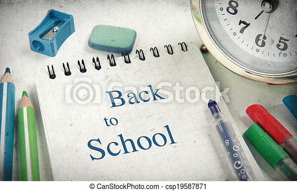 Back to school concept - csp19587871