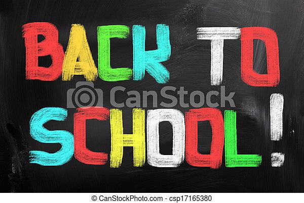 Back To School Concept - csp17165380