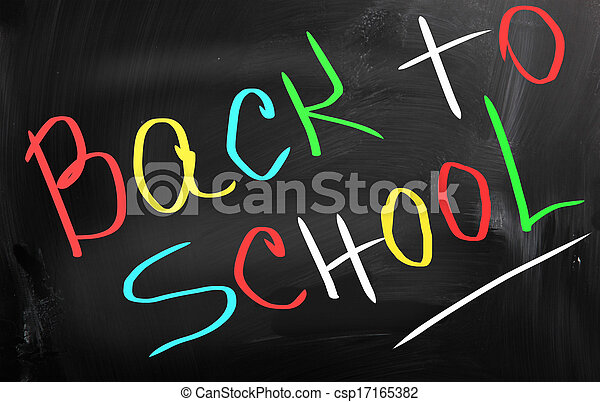 Back To School Concept - csp17165382