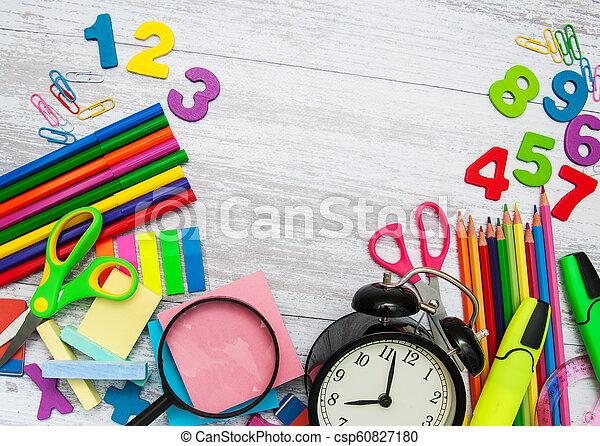 Back to school concept - csp60827180