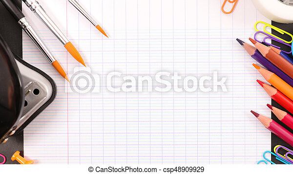 back to school concept - csp48909929