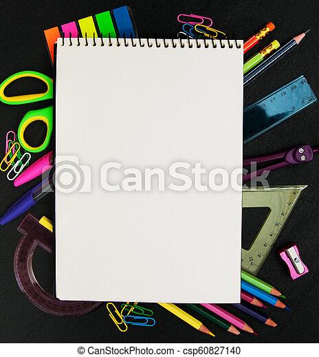 Back to school concept - csp60827140