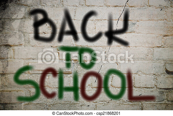 Back To School Concept - csp21868201