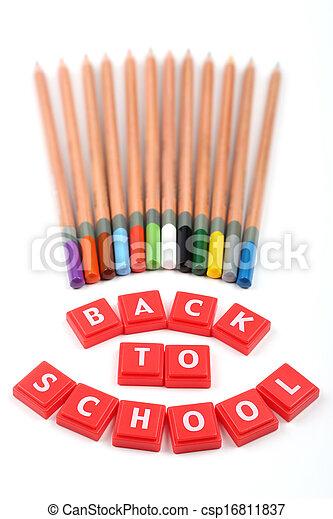 Back to school concept  - csp16811837