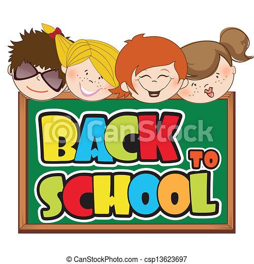 back to school - csp13623697