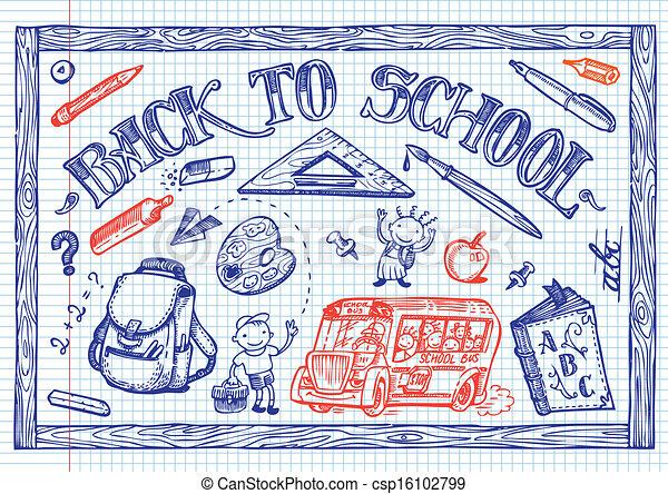 back to school - csp16102799