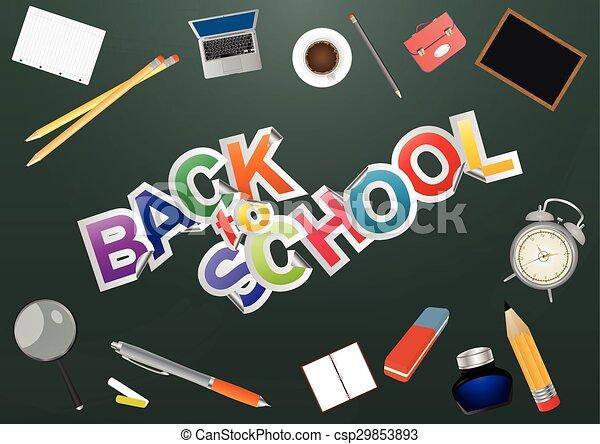 back to school - csp29853893