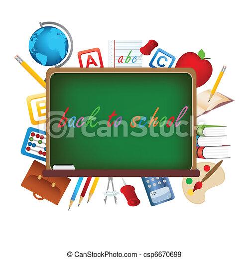 Back to school - csp6670699