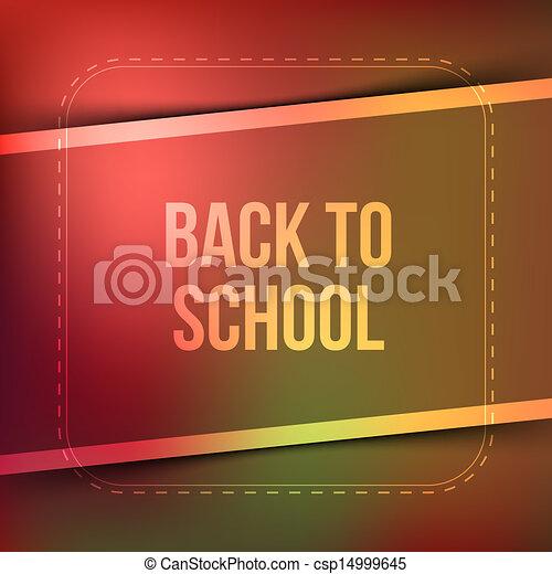 Back to school - csp14999645