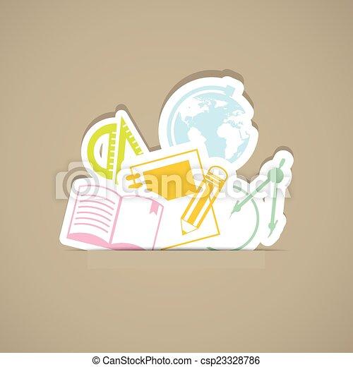 back to school - csp23328786