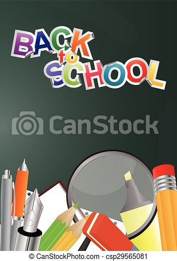 back to school  - csp29565081