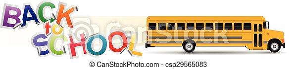 back to school  - csp29565083