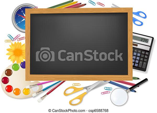 Back to school.  - csp6588768