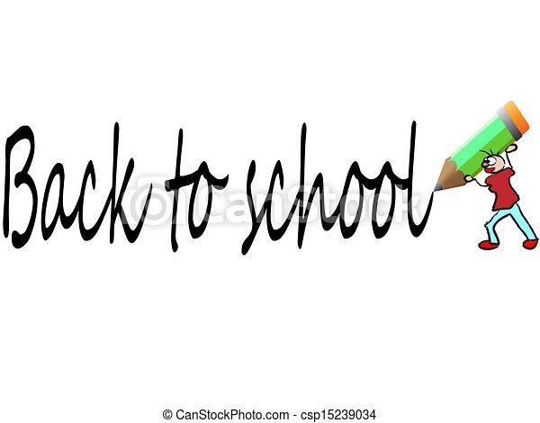 back to school - csp15239034