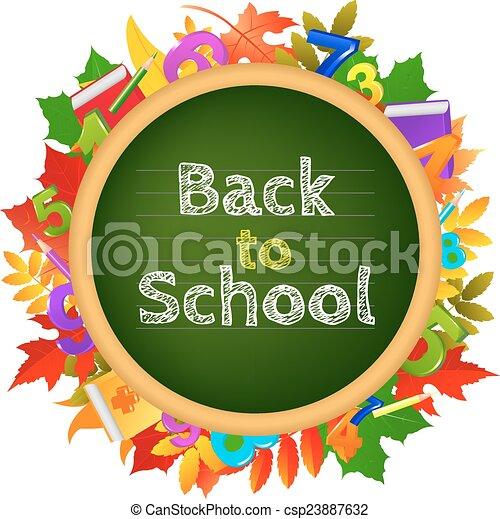 Back To School - csp23887632