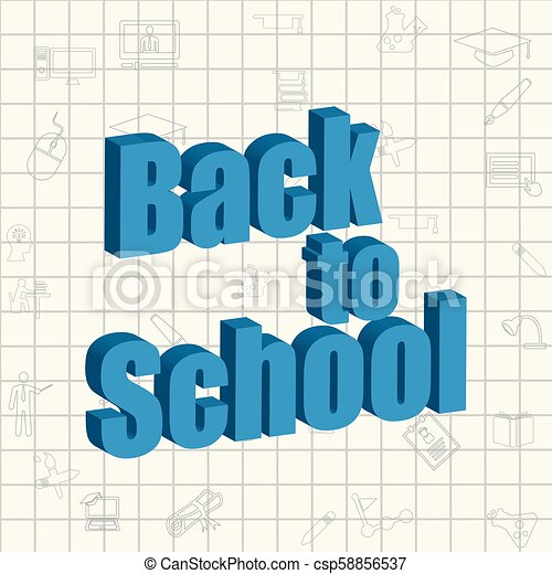 Back to School - csp58856537