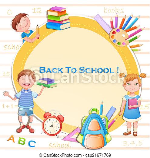 Back to school illustration - csp21671769