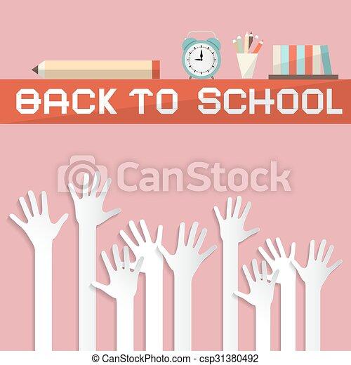 Back to School Illustration - csp31380492