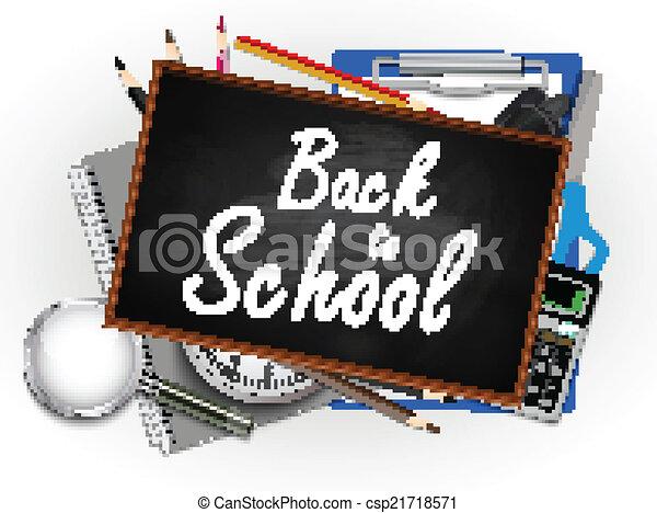 Back to school illustration - csp21718571