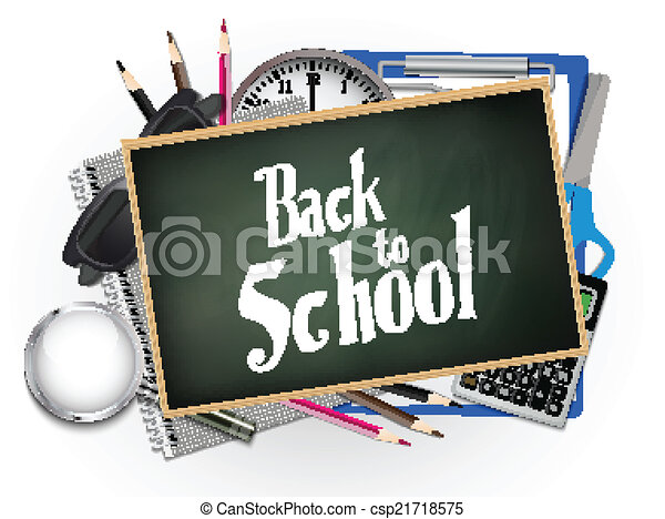 Back to school illustration - csp21718575