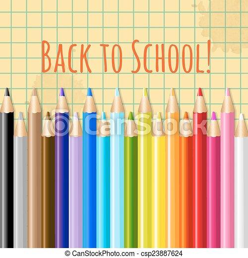 Back To School - csp23887624