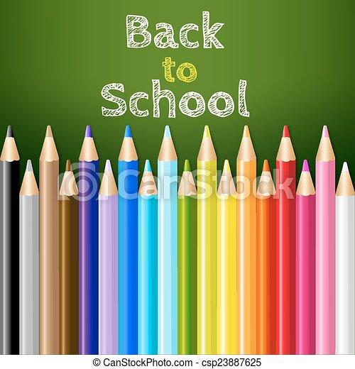 Back To School - csp23887625