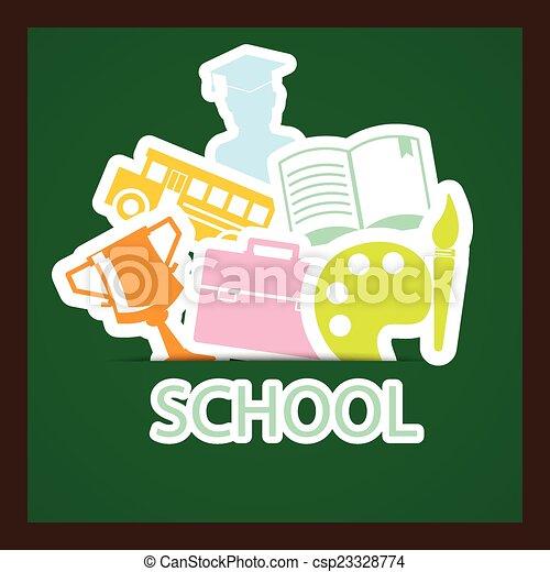 back to school - csp23328774