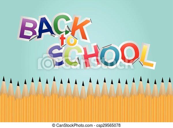 back to school  - csp29565078