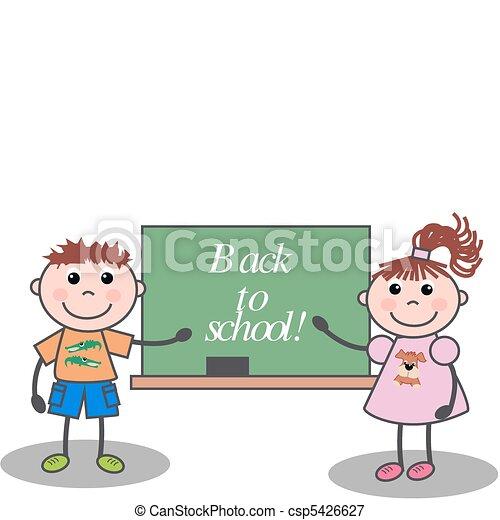 back to school - csp5426627