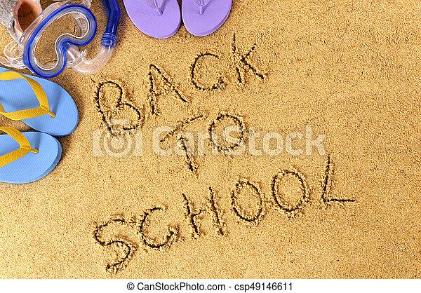 Back to school - csp49146611