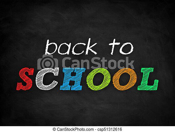 back to SCHOOL - csp51312616