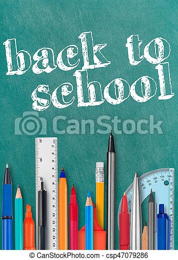 Back to school - csp47079286