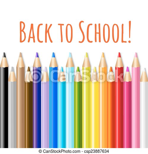 Back To School Poster - csp23887634