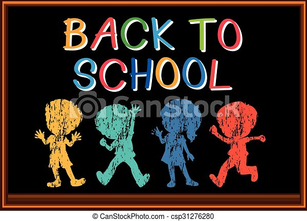 Back to school sign - csp31276280